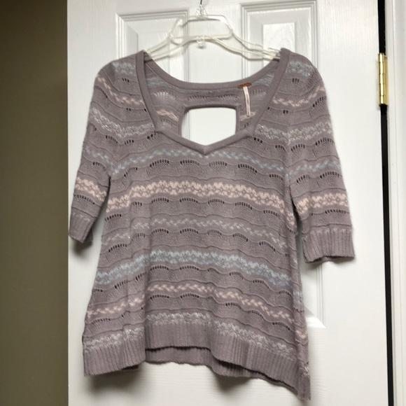 Free People Sweaters - FREE PEOPLE short sleeve sweater